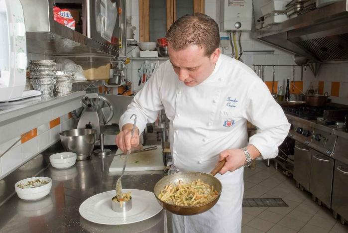 Sandro al lavoro, ph. Vincenzo Di Stefano